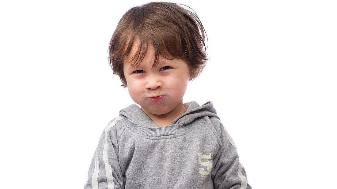 Rozlobené dítě