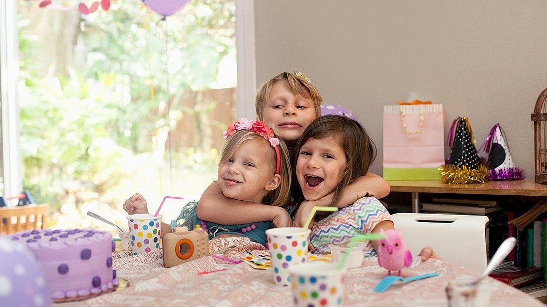 Oslava dětských narozenin