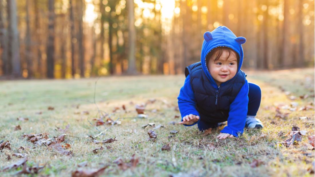Dítě na podzim