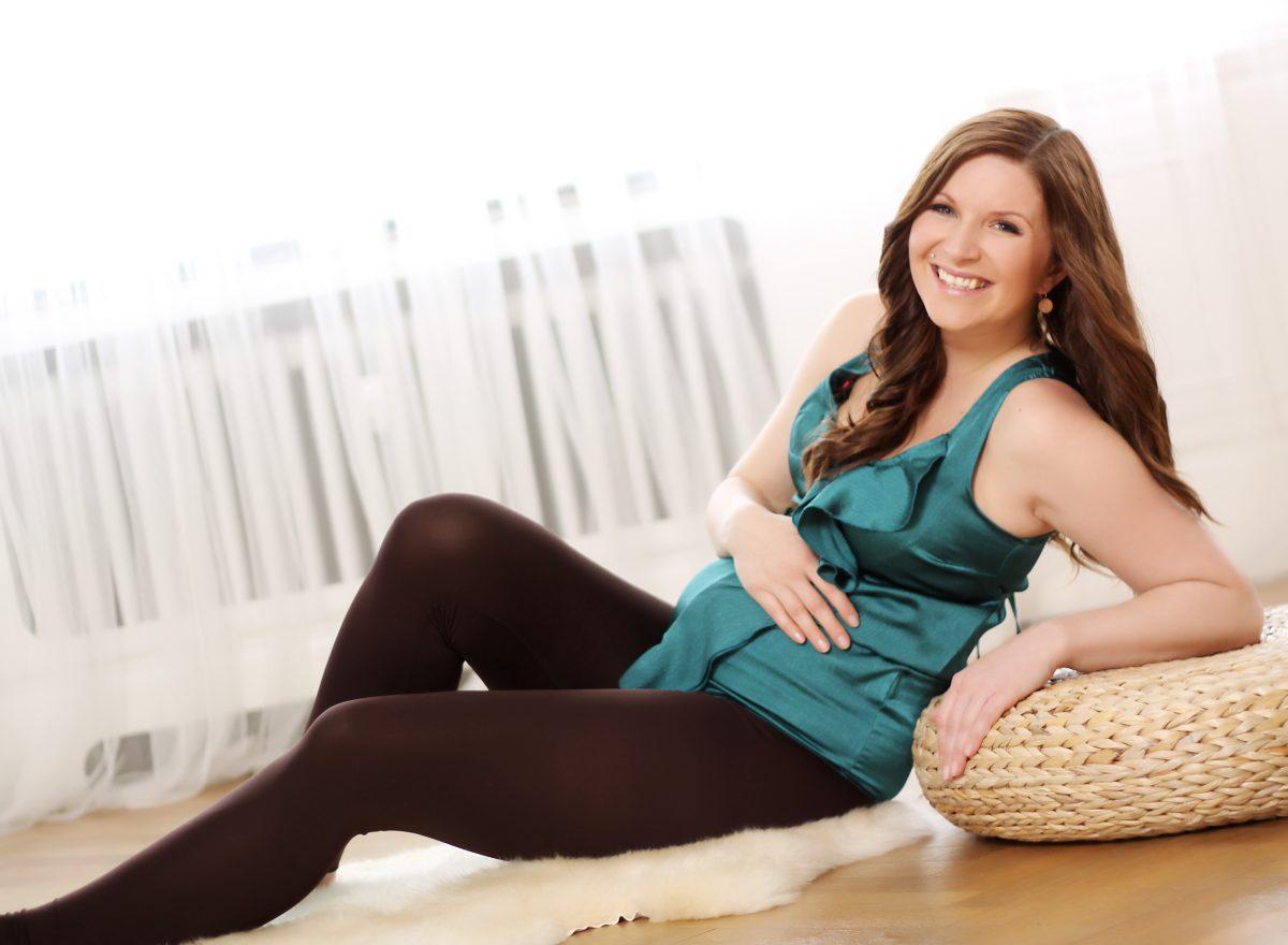 Fotografie (Těhotenské cvičení )
